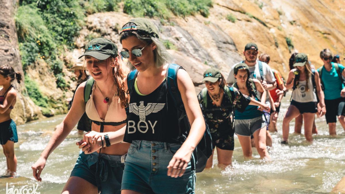 Camminare le acque di Zion