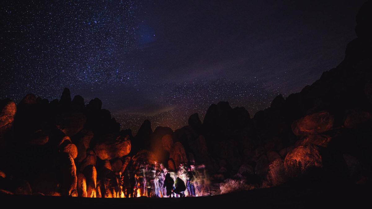 Paesaggi che cambiano e messaggi sotto le stelle.